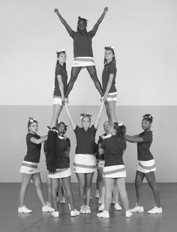 Cheerleaders LACOSTE Charles FREGER