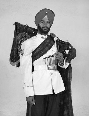 Sikh regiment Charles Freger