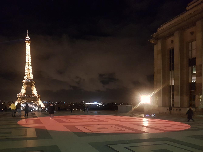 """""""Dans le cercle"""", Trocadero Paris"""